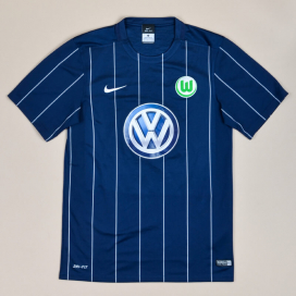 Wolfsburg 2016 - 2017 Away Shirt (Excellent) S