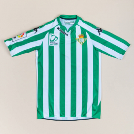 Real Betis 2007 - 2008 Centenary Home Shirt (Excellent) S