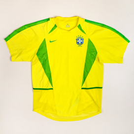 Brazil  2002 - 2004 Player Issue Home Shirt (Good) S