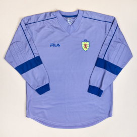 Scotland 2000 - 2001 Goalkeeper Shirt (Excellent) XL