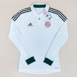 Bayern Munich 2013 - 2014 Player Issue 'BNWT' Away Shirt (New with tags) S