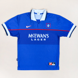 Rangers 1997 - 1999 Home Shirt (Good) S