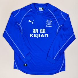 Everton 2002 - 2003 Home Shirt (Very good) XL
