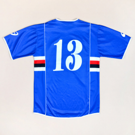 Sampdoria 2002 - 2003 Home Shirt #13 (Very good) XL