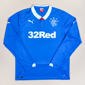 Rangers 2014 - 2015 Home Shirt (Excellent) L