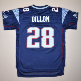 New England Patriots 2000 NFL American Football #28 Dillon (Very good) L