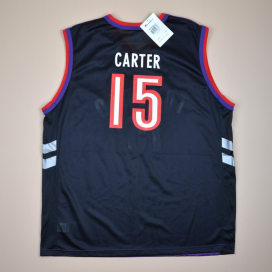 Toronto Raptors 2000 'BNWT' NBA Basketball Shirt #15 Carter (New with tags) L
