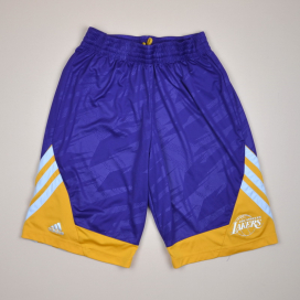 Los Angeles Lakers 2000 NBA Basketball Shorts (Very good) M