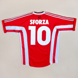 Kaiserslautern 1998 - 1999 Home Shirt #10 Sforza (Very good) S