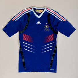 France 2009 - 2010 Player Issue TechFit Home Shirt (Good) L