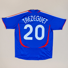 France 2006 Home Shirt #20 Trezeguet (Very good) XL