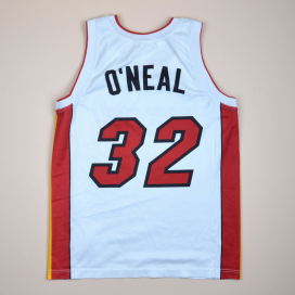 Miami Heat 2000 NBA Basketball Shirt #32 O'Neal (Excellent) S