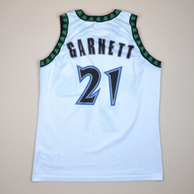 Minnesota Timberwolves 2000 NBA Basketball Shirt #21 Garnett (Very good) L