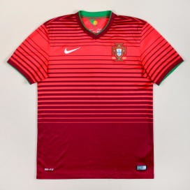 Portugal 2014 - 2015 Home Shirt (Excellent) S