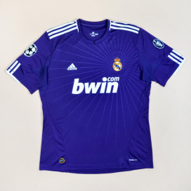 Real Madrid 2010 - 2011 Champions League Third Shirt (Very good) XL