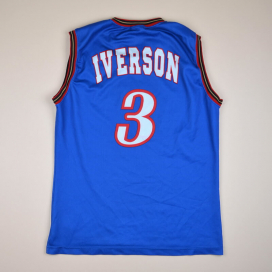 Philadelphia 76ers 2000 NBA Basketball Shirt #3 Iverson (Very good) L