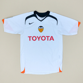 Valencia 2005 - 2006 Home Shirt (Very good) S