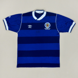 Scotland 1986 'World Cup Mexico' Home Shirt (Very good) M