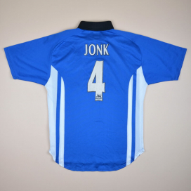 Sheffield Wednesday 1999 - 2000 Home Shirt #4 Jonk (Good) M