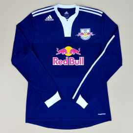 Red Bull Leipzig 2009 - 2010 Match Issue Away Shirt #15 (Excellent) L