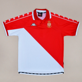 Monaco 2000 - 2001 Home Shirt (Very good) L
