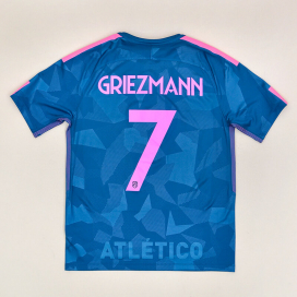 Atletico Madrid 2017 - 2018 Third Shirt #7 Griezmann (Excellent) M