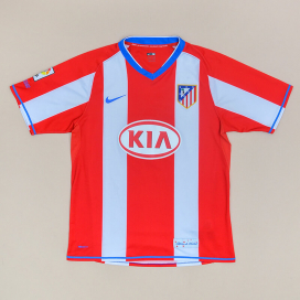 Atletico Madrid 2007 - 2008 Home Shirt (Good) M