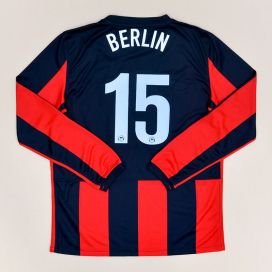 Hertha Berlin 2009 - 2010 Player Issue Away Shirt #15 (Very good) YXL