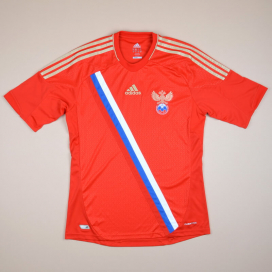 Russia 2012 - 2013 Home Shirt (Excellent) S