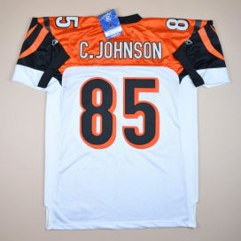 Chicago Bears 2000 'BNWT' NFL American Football Shirt #85 C. Johnson (Very good) XL/XXL