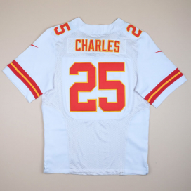 Kansas City Chiefs 2000 NFL American Football Shirt #25 Charles (Very good) M