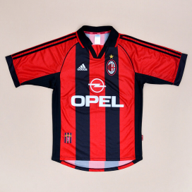 AC Milan 1998 - 2000 Home Shirt (Very good) S