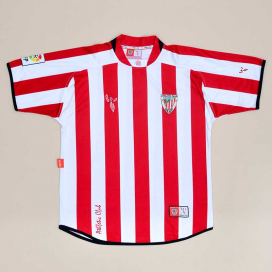 Athletic Bilbao 2004 - 2007 Home Shirt (Good) S
