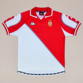Monaco 1998 - 1999 Home Shirt (Very good) M