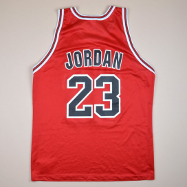 Chicago Bulls NBA Basketball Shirt #23  Jordan (Very good) XL
