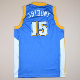 Denver Nuggets 2000 NBA Basketball Shirt #15 Anthony (Excellent) M