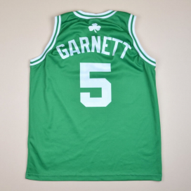 Boston Celtics 2000 NBA Basketball Shirt #5 Garnett (Very good) M