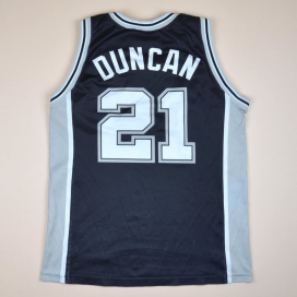 San Antonio Spurs 2000 NBA Basketball Shirt #21 Duncan (Good) M
