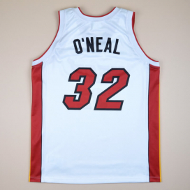 Miami Heat 2000 NBA Basketball Shirt #32 O'Neal (Excellent) XL