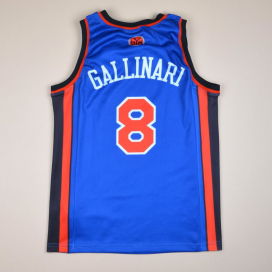 New York Knicks 2000 NBA Basketball Shirt #8 Gallinari (Excellent) S