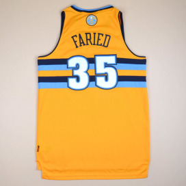 Denver Nuggets 2000 NBA Basketball Shirt #35 Faried (Very good) M