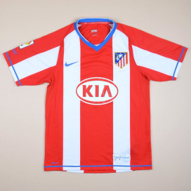 Atletico Madrid 2007 - 2008 Home Shirt (Very good) S