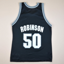 San Antonio Spurs 2000 NBA Basketball Shirt #50 Robinson (Good) L