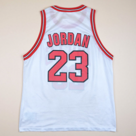 Chicago Bulls NBA Basketball Shirt #23  Jordan (Good) XL