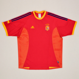 Spain 2002 - 2004 Home Shirt (Very good) XL