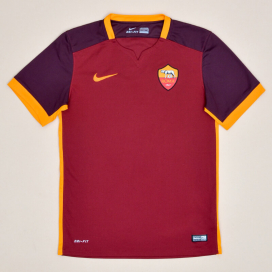 Roma 2015 - 2016 Home Shirt (Very good) S