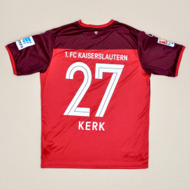 Kaiserslautern 2016 - 2017 Home Shirt #27 Kerk (Excellent) M
