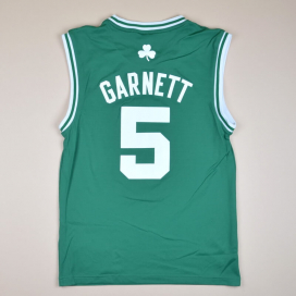 Boston Celtics 2000 NBA Basketball Shirt #5 Garnett (Very good) S