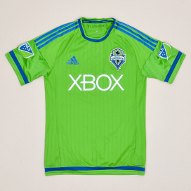 Seattle Sounders 2015 Home Shirt (Very good) S