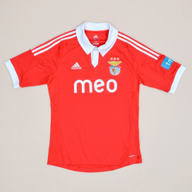 Benfica 2010 - 2011 Home Shirt (Very good) S
